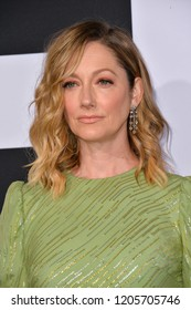 """LOS ANGELES, CA. October 17, 2018: Judy Greer at the premiere for """"Halloween"""" at the TCL Chinese Theatre."""