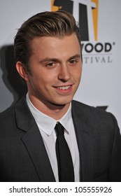 LOS ANGELES, CA - OCTOBER 24, 2011: Kenny Wormald at the 15th Annual Hollywood Film Awards Gala at the Beverly Hilton Hotel. October 24, 2011  Beverly Hills, CA