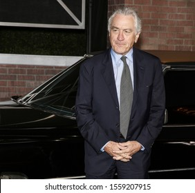 """Los Angeles, CA - October 24, 2019: Robert De Niro arrives for the Premiere Of Netflix's """"The Irishman"""" held at TCL Chinese Theatre"""