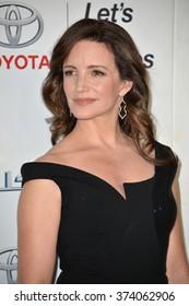 LOS ANGELES, CA - OCTOBER 24, 2015: Kristin Davis at the 25th Annual Environmental Media Awards at Warner Bros. Studios, Burbank, CA.