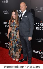 """LOS ANGELES, CA. October 24, 2016: Actor Vince Vaughn & wife Kyla Weber at the Los Angeles premiere of """"Hacksaw Ridge"""" at The Academy's Samuel Goldwyn Theatre, Beverly Hills."""