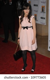 LOS ANGELES, CA - OCTOBER 26, 2009: Zooey Deschanel at the 13th Annual Hollywood Awards at the Beverly Hilton Hotel.