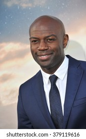 LOS ANGELES, CA - OCTOBER 26, 2014: David Gyasi at the Los Angeles premiere of his movie Interstellar at the TCL Chinese Theatre, Hollywood.