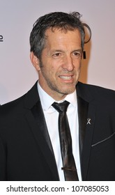 LOS ANGELES, CA - OCTOBER 27, 2010: Designer Kenneth Cole at the launch of amfAR's L.A. Event celebrating Men's Style at the Chateau Marmont Hotel