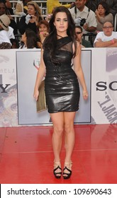 """LOS ANGELES, CA - OCTOBER 27, 2009: Jillian Murray at the premiere of Michael Jackson's """"This Is It"""" at the Nokia Theatre, L.A. Live."""
