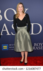 """LOS ANGELES, CA. October 29, 2018: Olivia Alair Dalton at the Los Angeles premiere for """"Boy Erased"""" at the Directors Guild of America.Picture: Paul Smith/Featureflash"""