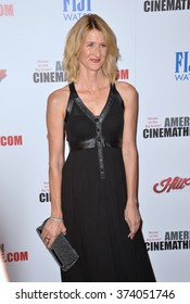 LOS ANGELES, CA - OCTOBER 30, 2015: Actress Laura Dern at the American Cinematheque 2015 Award Show, honoring Reese Witherspoon & Jeffrey Katzenberg, at the Hyatt Regency Century Plaza Hotel.