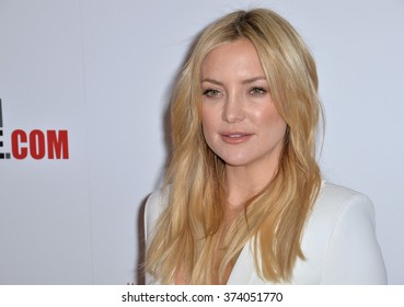 LOS ANGELES, CA - OCTOBER 30, 2015: Actress Kate Hudson at the American Cinematheque 2015 Award Show, honoring Reese Witherspoon & Jeffrey Katzenberg, at the Hyatt Regency Century Plaza Hotel.