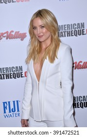 LOS ANGELES, CA - OCTOBER 30, 2015: Actress Kate Hudson at the American Cinematheque 2015 Award Show at the Century Plaza Hotel