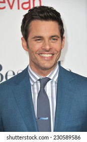 "LOS ANGELES, CA - OCTOBER 7, 2014: James Marsden at the world premiere of his movie ""The Best of Me"" at the Regal Cinemas LA Live."