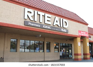 Los Angeles, CA  Sept 15,2020 Rite Aid Pharmacy Stores