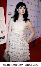 LOS ANGELES, CA - SEPTEMBER 08, 2009: Krysten Ritter at the Los Angeles premiere of 'The September Issue' held at the LACMA in Los Angeles, USA on September 8, 2009.