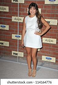 LOS ANGELES, CA - SEPTEMBER 10, 2012: Glee star Jenna Ushkowitz at the Fox Fall Eco-Casino Party in Culver City.