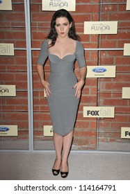 LOS ANGELES, CA - SEPTEMBER 10, 2012: Shannon Woodward at the Fox Fall Eco-Casino Party in Culver City.