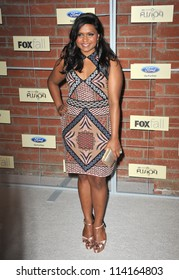 LOS ANGELES, CA - SEPTEMBER 10, 2012: Mindy Kaling at the Fox Fall Eco-Casino Party in Culver City.