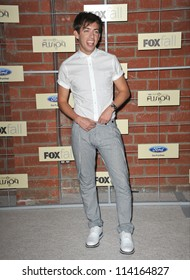 LOS ANGELES, CA - SEPTEMBER 10, 2012: Kevin McHale at the Fox Fall Eco-Casino Party in Culver City.
