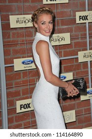 LOS ANGELES, CA - SEPTEMBER 10, 2012: Cat Deeley at the Fox Fall Eco-Casino Party in Culver City.