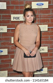 LOS ANGELES, CA - SEPTEMBER 10, 2012: Demi Lovato at the Fox Fall Eco-Casino Party in Culver City.
