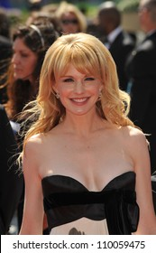 LOS ANGELES, CA - SEPTEMBER 12, 2009: Kathryn Morris at the 2009 Creative Arts Emmy Awards at the Nokia Theatre L.A. Live.