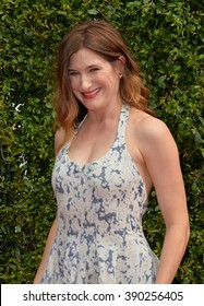 LOS ANGELES, CA - SEPTEMBER 12, 2015: Actress Kathryn Hahn at the Creative Arts Emmy Awards 2015 at the Microsoft Theatre LA Live.