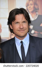 """LOS ANGELES, CA - SEPTEMBER 15, 2014: Jason Bateman at the Los Angeles premiere of his movie """"This Is Where I Leave You"""" at the TCL Chinese Theatre, Hollywood."""