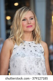 "LOS ANGELES, CA - SEPTEMBER 15, 2014: Kristen Bell at the Los Angeles premiere of ""This Is Where I Leave You"" at the TCL Chinese Theatre, Hollywood."