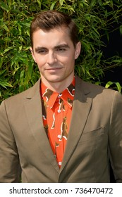 """LOS ANGELES, CA - September 16, 2017: Dave Franco at the premiere for """"The Lego Ninjago Movie"""" at the Regency Village Theatre, Westwood"""
