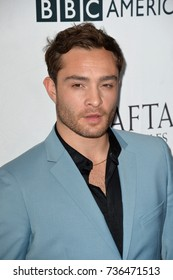 LOS ANGELES, CA - September 16, 2017: Ed Westwick at the BAFTA Los Angeles BBC America TV Tea Party 2017 at The Beverly Hilton Hotel