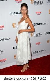 LOS ANGELES, CA - September 16, 2017: Angela Sarafyan at the BAFTA Los Angeles BBC America TV Tea Party 2017 at The Beverly Hilton Hotel