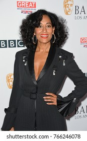 LOS ANGELES, CA. September 16, 2017: Tracee Ellis Ross at the BAFTA Los Angeles BBC America TV Tea Party 2017 at The Beverly Hilton Hotel, Beverly Hills