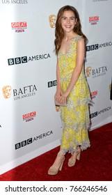 LOS ANGELES, CA. September 16, 2017: Kiernan Shipka at the BAFTA Los Angeles BBC America TV Tea Party 2017 at The Beverly Hilton Hotel, Beverly Hills