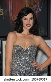 LOS ANGELES, CA - SEPTEMBER 18, 2011: Mad Men star Jessica Pare at the 2011 Primetime Emmy Awards at the Nokia Theatre L.A. Live. September 18, 2011  Los Angeles, CA
