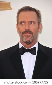 LOS ANGELES, CA - SEPTEMBER 18, 2011: Hugh Laurie at the 2011 Primetime Emmy Awards at the Nokia Theatre, L.A. Live. September 18, 2011  Los Angeles, CA