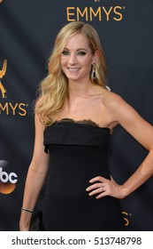 LOS ANGELES, CA. September 18, 2016: Actress Joanne Froggatt at the 68th Primetime Emmy Awards at the Microsoft Theatre L.A. Live.