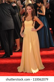 LOS ANGELES, CA - SEPTEMBER 20, 2009: Jennifer Love Hewitt at the 61st Primetime Emmy Awards at the Nokia Theatre L.A. Live.