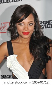 """LOS ANGELES, CA - SEPTEMBER 21, 2011: Tiffany Hines at the Los Angeles premiere of """"Machine Gun Preacher"""" at the Samuel Goldwyn Theatre, Beverly Hills. September 21, 2011  Los Angeles, CA"""