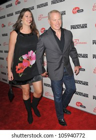 "LOS ANGELES, CA - SEPTEMBER 21, 2011: Neal McDonough & wife at the Los Angeles premiere of ""Machine Gun Preacher"" at the Samuel Goldwyn Theatre, Beverly Hills. September 21, 2011  Los Angeles, CA"