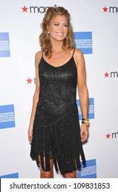 LOS ANGELES, CA - SEPTEMBER 24, 2009: Kathy Ireland at the Macy's Passport 2009 Fashion Show at Barker Hanger, Santa Monica Airport.