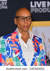 """LOS ANGELES, CA. September 24, 2018: RuPaul at the Los Angeles premiere for """"A Star Is Born"""" at the Shrine Auditorium.Picture: Paul Smith/Featureflash"""