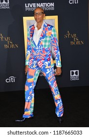 "LOS ANGELES, CA. September 24, 2018: RuPaul at the Los Angeles premiere for ""A Star Is Born"" at the Shrine Auditorium.