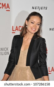 LOS ANGELES, CA - SEPTEMBER 25, 2010: Olivia Wilde at a benefit gala at  LACMA for the opening of  The Lynda & Stewart Resnick Exhibition Pavilion in Los Angeles, CA.