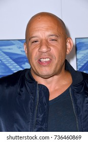 """LOS ANGELES, CA - September 26, 2017: Vin Diesel at the premiere for the HBO documentary """"Spielberg"""" at Paramount Studios, Hollywood"""