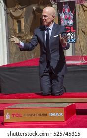 LOS ANGELES, CA. September 29, 2016: Jeffrey Katzenberg at the hand & footprint ceremony honoring Dreamworks co-founder Jeffrey Katzenberg at the TCL Chinese Theatre, Hollywood.