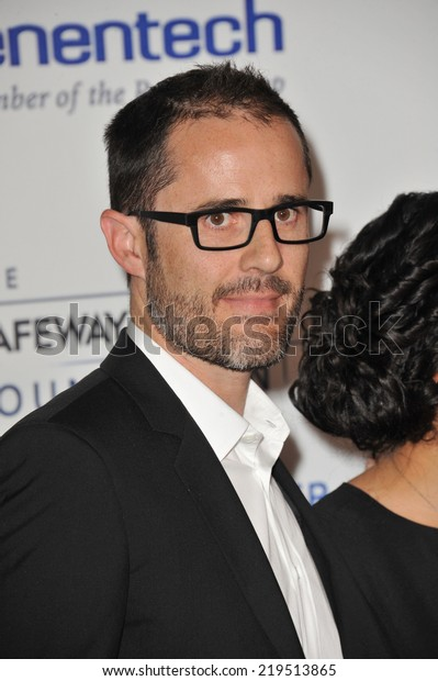 LOS ANGELES, CA - SEPTEMBER 5, 2014: Twitter founder Evan Williams at the 2014 Stand Up To Cancer Gala at the Dolby Theatre, Hollywood.