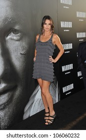 """LOS ANGELES, CA - SEPTEMBER 6, 2011: Ana Alexander at the world premiere of """"Warrior"""" at the Arclight Theatre, Hollywood. September 6, 2011  Los Angeles, CA"""