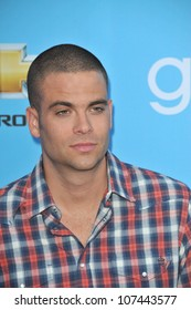 """LOS ANGELES, CA - SEPTEMBER 7, 2010: """"Glee"""" star Mark Salling at the season two premiere screening & party for """"Glee"""" at Paramount Studios, Hollywood."""