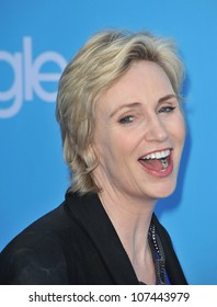 """LOS ANGELES, CA - SEPTEMBER 7, 2010: """"Glee"""" star Jane Lynch at the season two premiere screening & party for """"Glee"""" at Paramount Studios, Hollywood."""