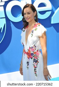 """LOS ANGELES, CA - SEPTEMBER 7, 2014: Ashley Judd at the Los Angeles premiere of her movie """"Dolphin Tale 2"""" at the Regency Village Theatre, Westwood."""