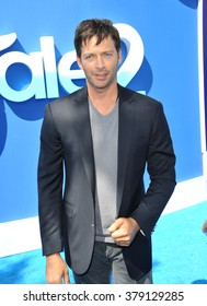 """LOS ANGELES, CA - SEPTEMBER 7, 2014: Harry Connick Jr at the Los Angeles premiere of his movie """"Dolphin Tale 2"""" at the Regency Village Theatre, Westwood."""