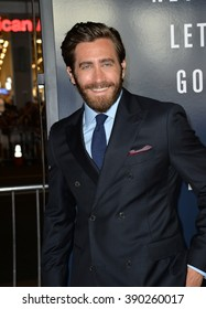 """LOS ANGELES, CA - SEPTEMBER 9, 2015: Jake Gyllenhaal at the American premiere of his movie """"Everest"""" at the TCL Chinese Theatre, Hollywood."""
